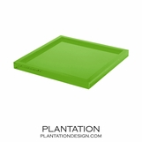 Cavour Lucite Tray | Lime