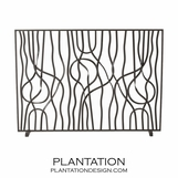 Cinta Fireplace Screen