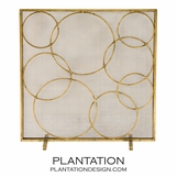Circulo Fireplace Screen