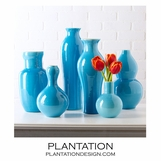 Colorful Porcelain Vases Set | Turquoise