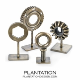 Constructor Brass Sculpture Set