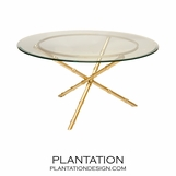 Cosimo Coffee Tables | Gold