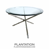 Cosimo Coffee Tables | Nickel