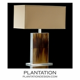 Cubo Luxury Horn Lamp | Tall