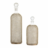 Drexel Meshed Decanters Set