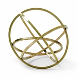 Ellipse Brass Sculpture