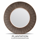 """Emery Concave """"Shagreen"""" Mirror 