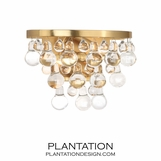 Flair Sconce | Antique Brass