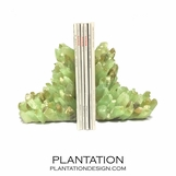 Geode Bookends | Green Calcite