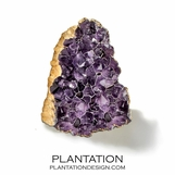 Grotto Stone Objects | Amethyst & Gold