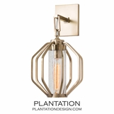 Hector Sconce | Antique Brass