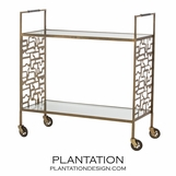 Horgan Iron Bar Cart