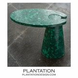 Hover Stone Side Table | Malachite