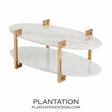 Isolde Marble Coffee Table