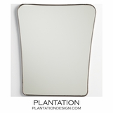Keane Mirror | Polished Nickel