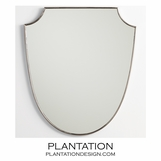 Kiley Mirror | Polished Nickel