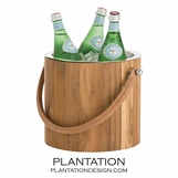 Kincaid Wooden Ice Bucket