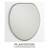 Kirby Mirror | Antique Nickel