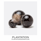 Kramer Wood Spheres Set | Dark