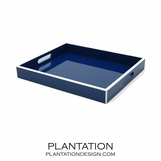 Lacquer Tray | Navy