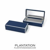 Lacquer Trinket Box | Navy