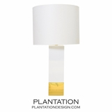 Lars Tall Lamp | White