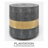 "Lavinia ""Shagreen"" Side Table 