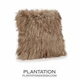 "Lux ""Fur"" Pillows 