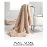 "Lux ""Fur"" Throw 
