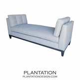Mark Duo Chaise w/Apron Detail