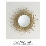 Marquis Spiky Wall Mirror | Small