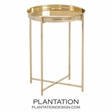 Medina Side Table | Brass