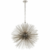 Meteor Medium Chandelier | Nickel