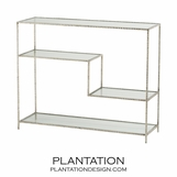 Springfield Console Table | Silver Leaf