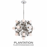 Norton Chandelier | Nickel