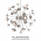 Norton Grand Chandelier | Nickel