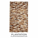 Pastiche Hide Area Rug | Brown
