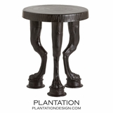 Paws Bronze Side Table