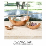 Placido Copper Bowls