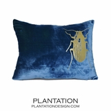 Reiki Velvet Pillow | Beetle