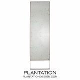 Santos Iron Floor Mirror