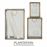 Sawyer Glass Boxes | Set of 3