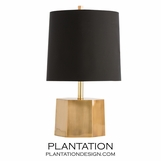 Shea Brass Table Lamp