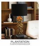 Spiky Deco Lamp | Satin Gold
