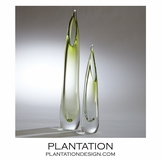 Stalactite Glass Vases | Light Green