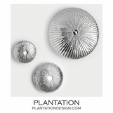 Stellan Wall Sculptures | Nickel