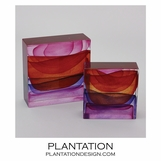 Stratum Art Glass Blocks | Sunrise