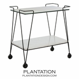 Summerville Retro Bar Cart