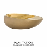 Tamsin Brass Bowl | Large