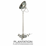 Teague Silver Floor Lamp
